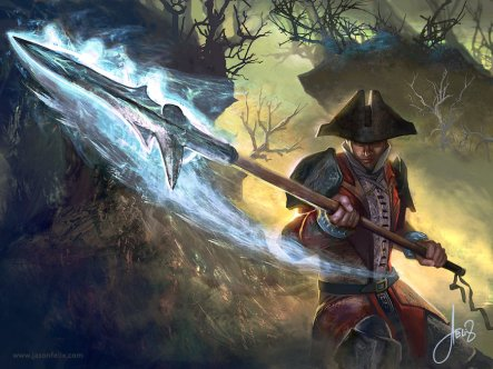 lunging_spear_magic_the_gathering_by_jason_felix-d5on2eu